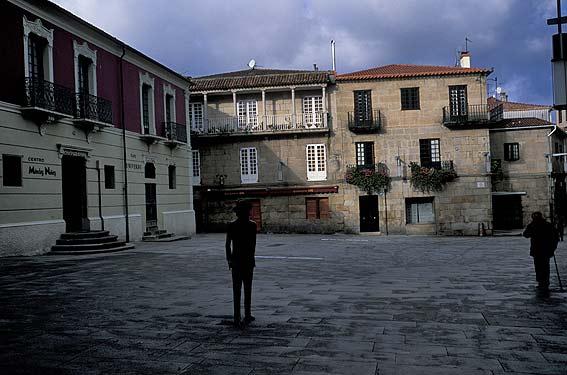 Plaza De Mendez Nunez Pontevedra